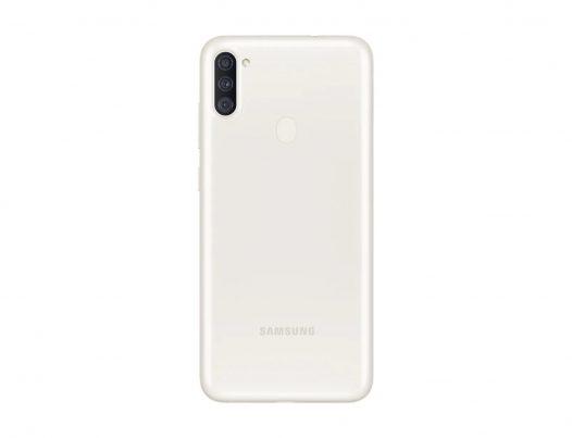 "Celular Samsung Galaxy A11 2GB RAM 32GB 6.4"" Liberado Dual SIM Color Blanco"
