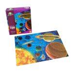 Rompecabeza para niños «Sistema solar 100 pza» marca Mis pasitos