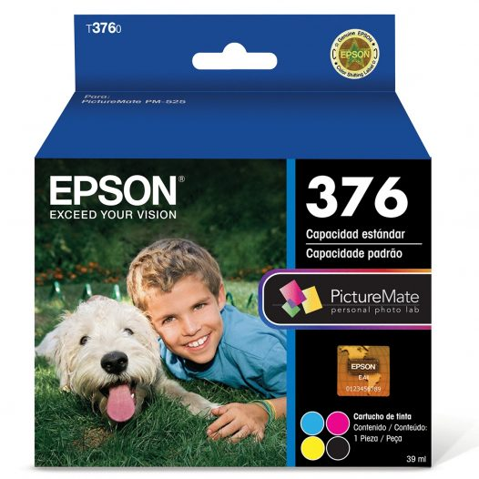 Cartucho Fotográfico Epson 376 para PictureMate 525 Series