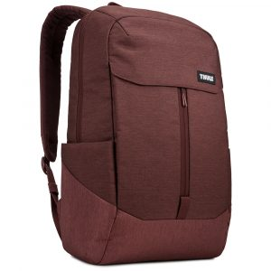 Mochila THULE modelo LITHOS 20L color DARK BURGUNDY