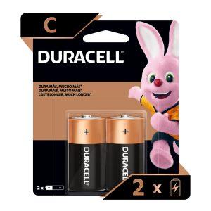 Bateria DURACELL REGULAR C (2 und)