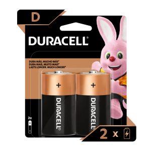 Bateria DURACELL REGULAR D (2 und)