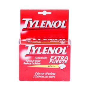 Tylenol en tableta 500mg (2 und X 10so)