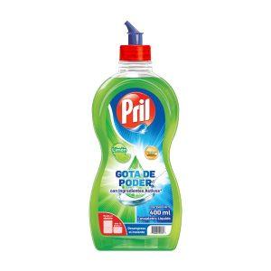Lavaplatos Liquido Limon 400ml marca PRIL