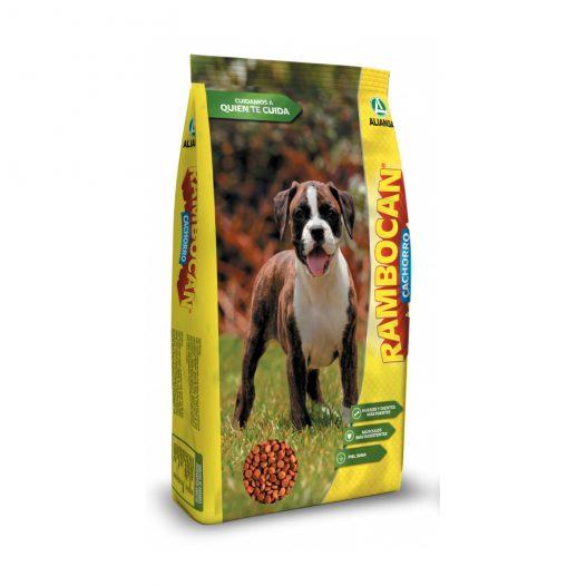 Comida para perro RAMBOCAN cachorro 8.8 Lb