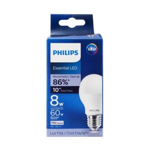 Foco led Essential luz calida 8W/60W marca PHILIPS