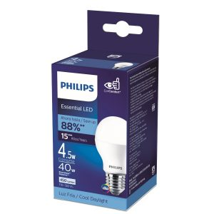 Foco led Essential luz calida 4.5W/40W marca PHILIPS