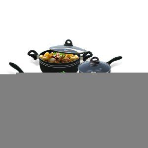 Bateria de cocina clasica 7 pz marca OSTER
