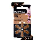 Bateria DURACELL  SPECIALBAT 312 (6 und)