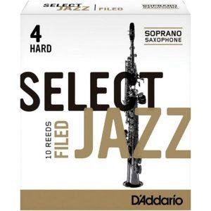 Cañuela para Saxo Soprano Madera Select Jazz  Rsf10ssx 4