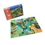 Rompecabeza para niños «Amigos de la selva 30 pza» marca Mis pasitos