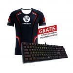 Promoción producto GRATIS - Teclado Gaming Mecánico MK851 Max Pro RGB + GRATIS Playera