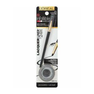 Delineador infallible lacquer liner blackest b marca L´OREAL