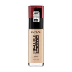 Base Infallible makeup true beige marca L´OREAL