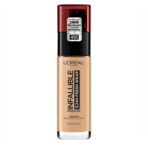 Base Infallible makeup natural buff marca L´OREAL