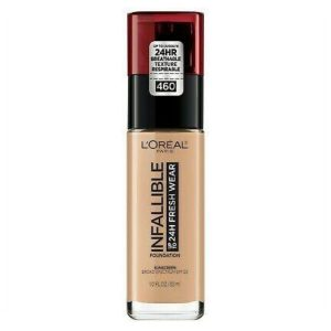 Base Infallible makeup golden beige marca L´OREAL