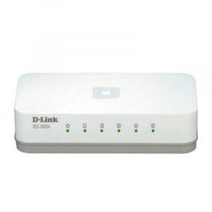 Switch de Red 5 puertos 10/100 DES-1005A marca D-Link