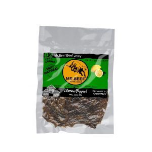 "Carne Seca Mr.Beef Jerky 25g Sabor ""Lemon Pepper"""