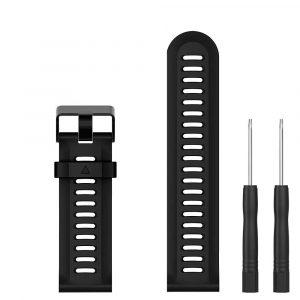 Pulsera de Silicon para Reloj Garmin Fenix 3 color Negro