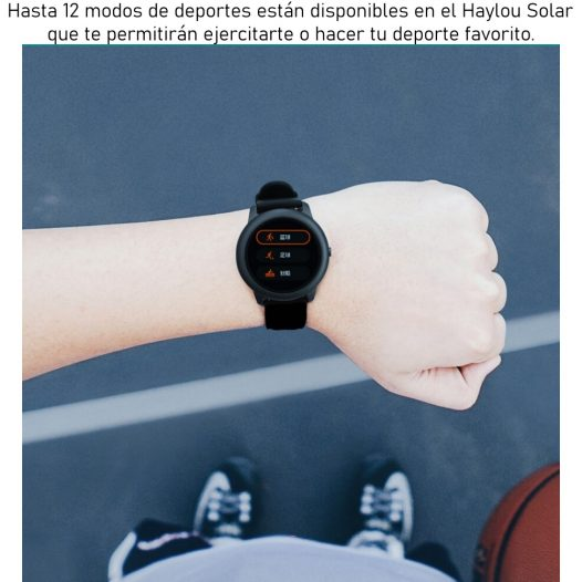 Haylou Solar LS05 Reloj Inteligente Negro