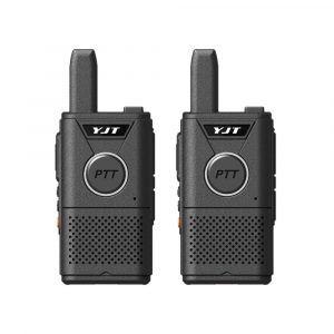 Kit de 2 Radios Intercomunicadores marca YJT con alcance de hasta 3 KM