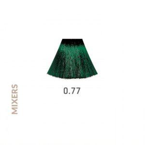 Tinte para el cabello Mixers 0.77 Turmalina marca Eva Professional