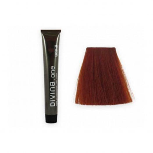 Tinte para el cabello 7.46 Cobrizo Cognac marca Eva Professional