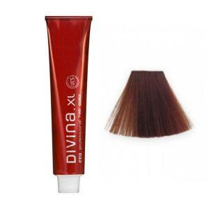 Tinte para el cabello 6.3 Rubio Oscuro Dorado marca Eva Professional