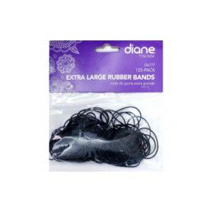 Hules para cabello grandes 250 Unidades marca Diane