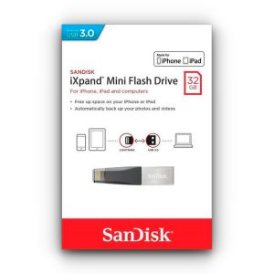 Memoria Externa para iPhone iXpand Mini marca Sandisk de 32GB