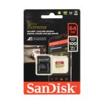 Tarjeta MicroSD 64GB marca SanDisk Extreme Clase A2 Para Android
