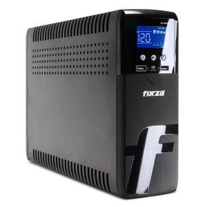 UPS XG-1201LCD 1200VA/720W 2 Puertos USB marca Forza