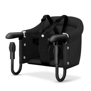 Silla Portátil para Bebes con Anclaje a Mesa marca Beeshum color Negro