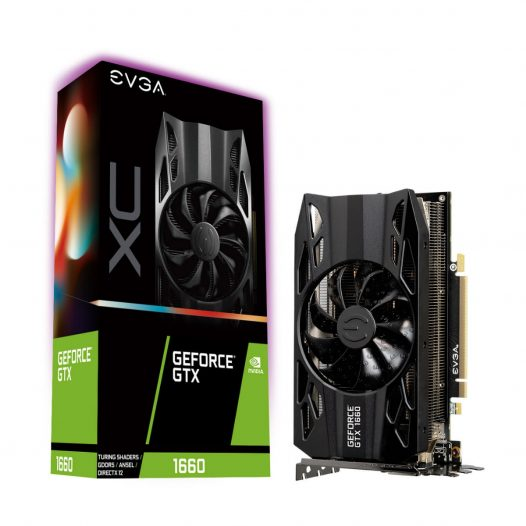 Tarjeta de Video EVGA GTX 1660 XC Gaming de 6GB marca EVGA PCIe 3.0 x16 06G-P4-1163-KR