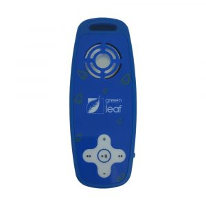 Reproductor MP3 marca Grean Leaf color Azul