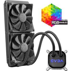 Sistema de Enfriamiento Liquido 280mm 2x140mm 400-HY-CL28-V1 marca EVGA