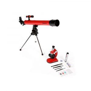 Kit de Telescopio Refractor y Microscopio de Especialidad 49TNW marca Tasco