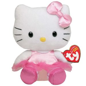 Peluche Hello Kitty Bailarina marca Ty