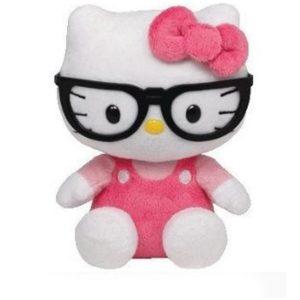 Peluche Hello kitty Nerd marca Ty