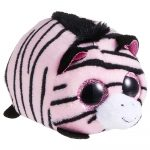 Peluche Penny Zebra rosada Teeny marca Ty