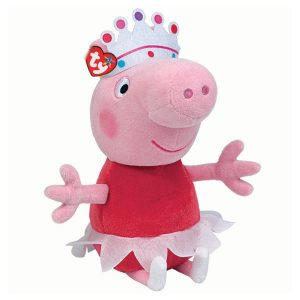Peluche mediano de Peppa Pig Bailarina marca Ty