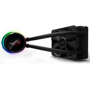 Sistema de Enfriamiento Liquido  ROG Ryuo 120 Aura Sync RGB marca Asus