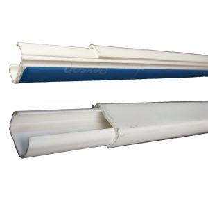 Canaleta con Adhesivo de 13x7mm / 2 Metros