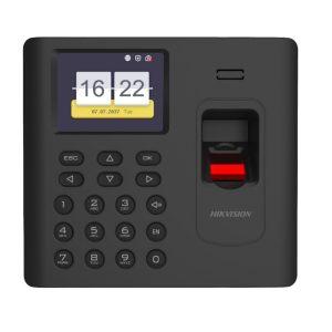 Terminal de asistencia de tiempo con huellas dactilares serie K1A802 Pro Hikvision