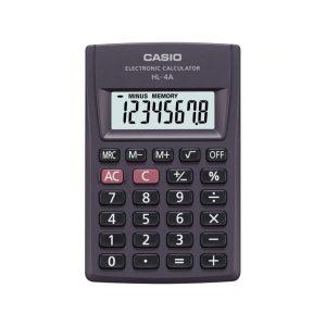 Calculadora Portatil HL-4A-W marca Casio