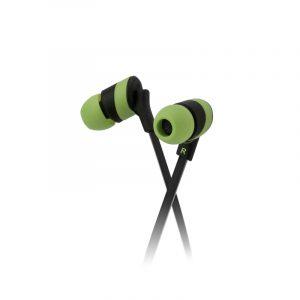 Audífonos Alámbricos KHS-625GN color Verde marca Klip Xtreme