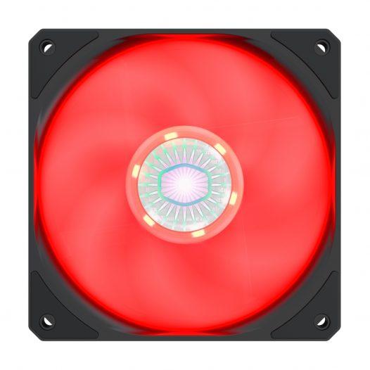 Ventilador para computadora 120 SickleFlow Rojo marca Cooler Master