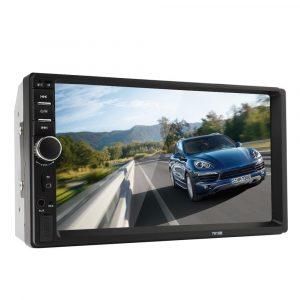 """Radio para Carro con Pantalla Táctil 7"""" MP4 con control Remoto Bluetooth"""