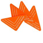 Rocketbook Beacons Reutilizables para Pizarras Color Naranja