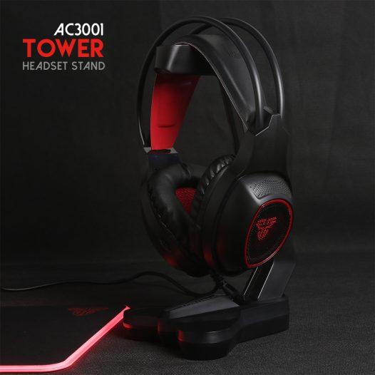 Base para Audífonos Gaming AC3001 marca Fantech color Negro